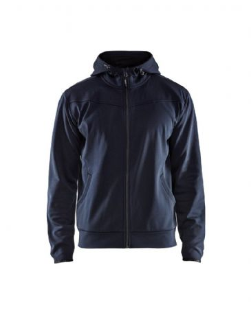 Blaklader 3363 Hoodies With Full Zipper (Dark Navy/Black)